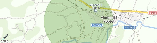 Mapa Vimbodi