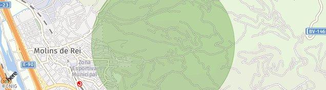 Mapa Molins de Rei