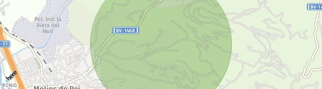Mapa Vallpineda