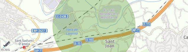 Mapa Espiells