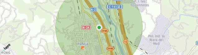 Mapa Palleja