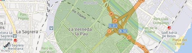 Mapa Sant Adrià de Besòs