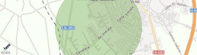 Mapa Morales del Vino