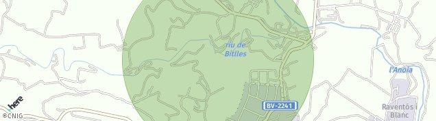 Mapa Monistrol d'Anoia