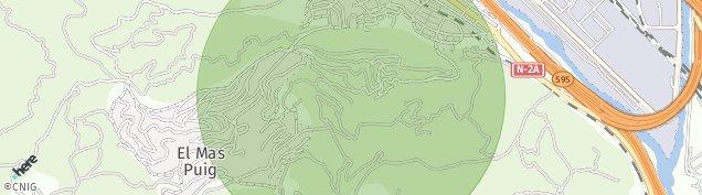 Mapa Sant Andreu de la Barca