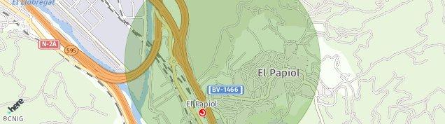 Mapa El Papiol