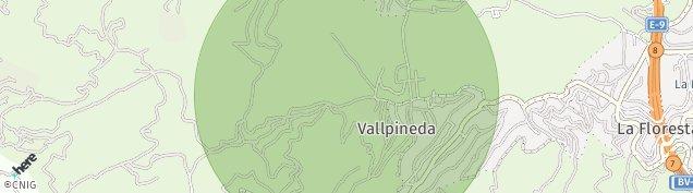 Mapa Valldoreix