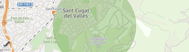 Mapa Sant Cugat del Vallès