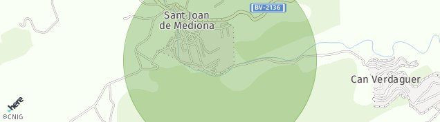 Mapa Mediona