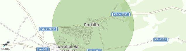 Mapa Arrabal de Portillo
