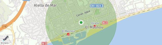 Mapa El Masnou