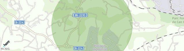Mapa Sant Esteve Sesrovires