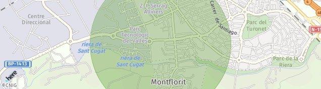 Mapa Cerdanyola del Vallès