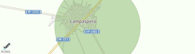 Mapa Campaspero