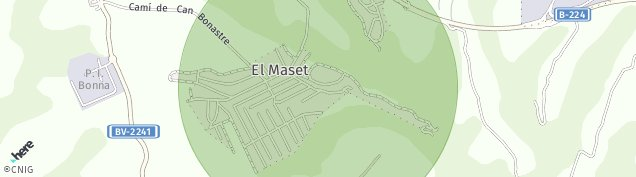 Mapa Masquefa