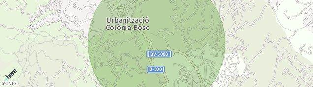 Mapa Tiana