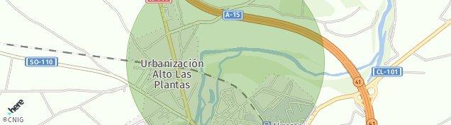 Mapa Almazán