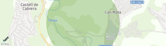 Mapa El Badorc
