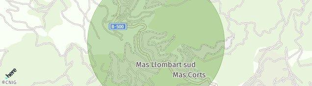 Mapa La Conreria