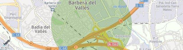 Mapa Santiga