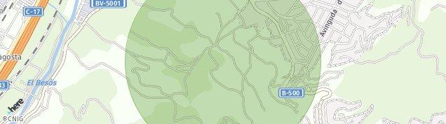 Mapa Sant Fost de Campsentelles