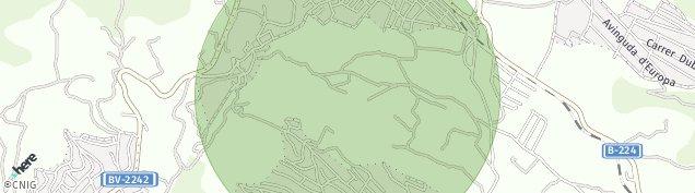 Mapa Piera