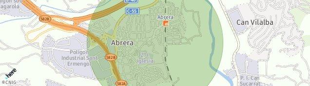 Mapa Abrera
