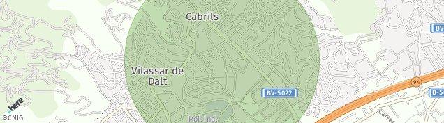 Mapa Vilassar de Dalt
