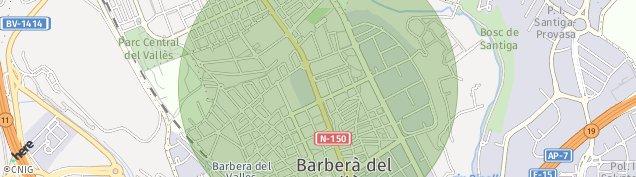 Mapa Barbera del Valles