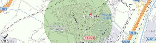 Mapa La Florida