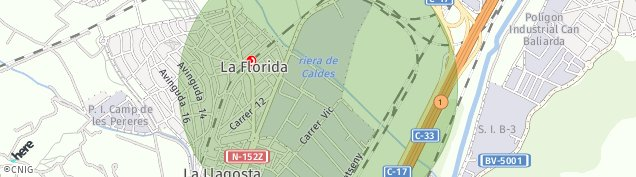 Mapa La Llagosta