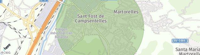 Mapa Martorelles