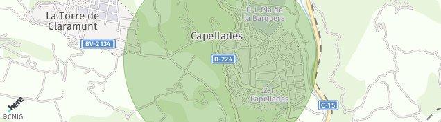 Mapa Capellades