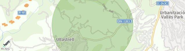 Mapa Ullastrell