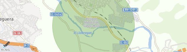 Mapa Esparreguera