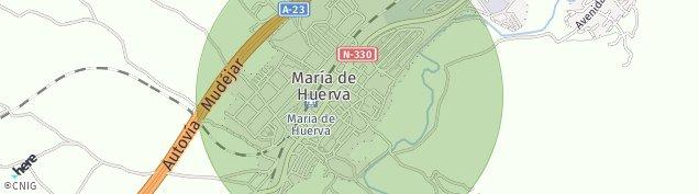 Mapa María de Huerva
