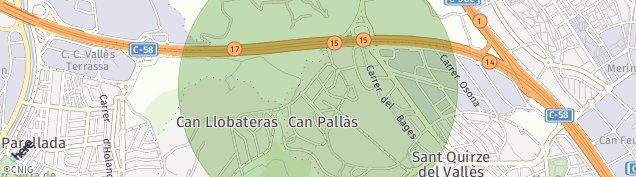 Mapa Sant Quirze del Vallès