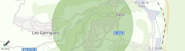 Mapa La Torre de Claramunt