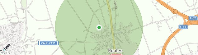 Mapa Roales
