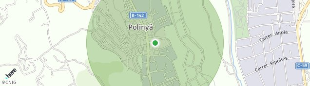 Mapa Polinya