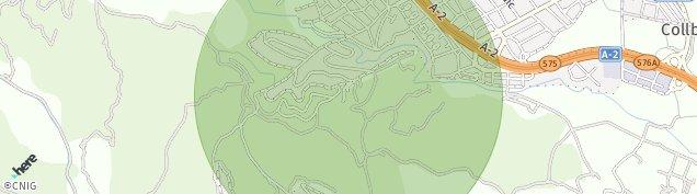 Mapa Collbató