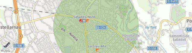 Mapa Sabadell