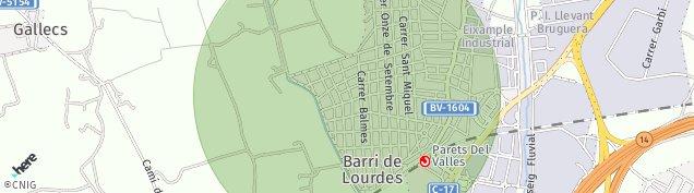 Mapa L' Eixample