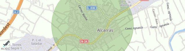 Mapa Alcarras