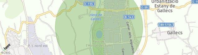 Mapa Palau-Solita I Plegamans