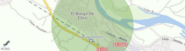 Mapa El Burgo de Ebro