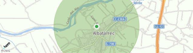 Mapa Albatarrec
