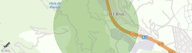 Mapa El Bruc