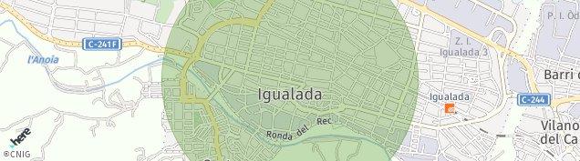 Mapa Igualada