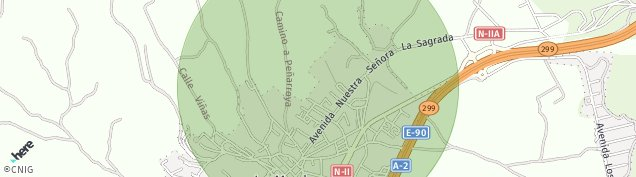 Mapa La Muela